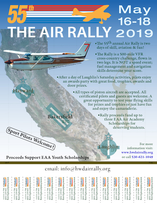 2019 Rally               Flyer